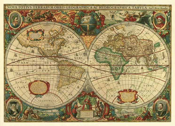 Oldest Known World Map.1 East Meets West Where Knot Of Stone