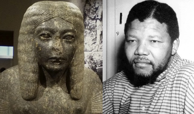 General Horemheb and Nelson Mandela as young scribe and lawyer