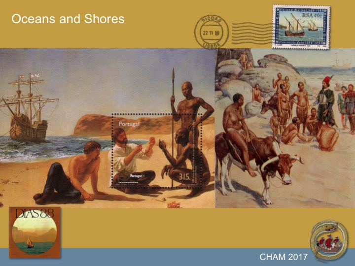 III CHAM 2017 conference, Oceans and Shores, University of Lisbon, slide 2