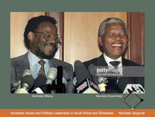 CHAM2019 Ancestral Voices  and Political Leadership Mangosuthu Buthelezi and Nelson Mandela